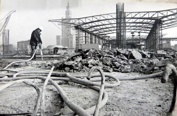 Centralny w budowie - fot. Dworzec Polski