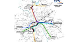 SKM-ką do Piaseczna i Radzymina? Kolejowe inwestycje za 25 mld zł