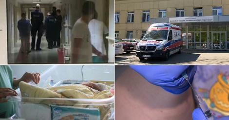 Rodzice chcieli zabrać noworodka ze szpitala, pilnowała go policja
