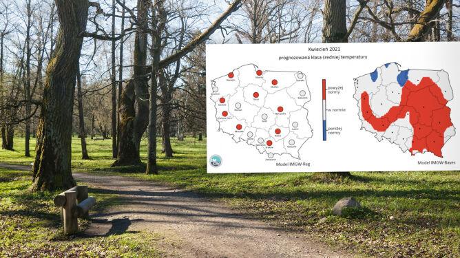 Są już pogodowe scenariusze na koniec zimy i początek wiosny. Co przewiduje IMGW?
