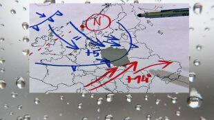 Na Śnieżce wiało z prędkością prawie 200 km/h. Polska w niżowo-wyżowych kleszczach