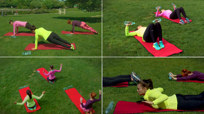Ćwiczenia na klatkę piersiową i plecy z Natalią Gacką