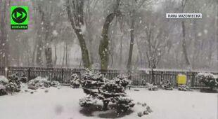 Powrót śniegu do Rawy Mazowieckiej