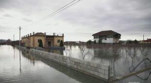 Powodzie w Albanii