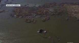 Skala zniszczeń na zdjęciach z powietrza